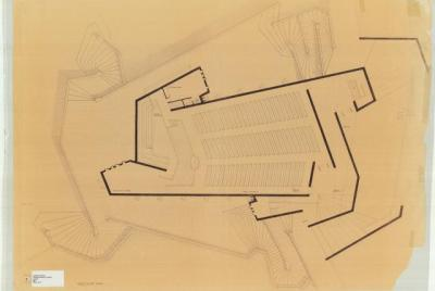 Paul Rudolph: Tuskegee Institute. Interdenominational Chapel. Main Floor plan.