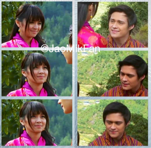 "Jao to Mikay: ""I promise to forever be by your side and I promise to make you smile everyday."""