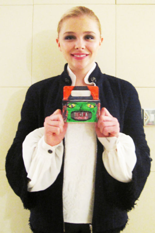 Giving back: 15-year-old actress Chloe Moretz supports Trick-or-Treat for UNICEF. The star talks about her involvement here »