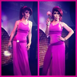apinchofbelladona:  -ryan:  rupaulsglamazons:  Chad Michaels as Meg from Hercules  oh my god  OH MY GAH <3333333