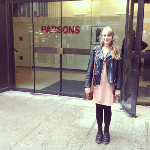 Had a lovely tour at Parsons' fashion campus!