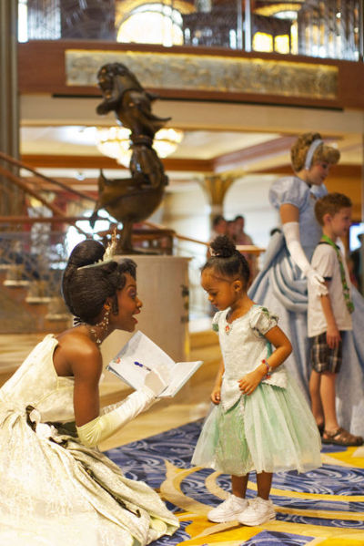 freereeves:  Representation matters.  There is a little boy with Cinderella!!! That made my day!