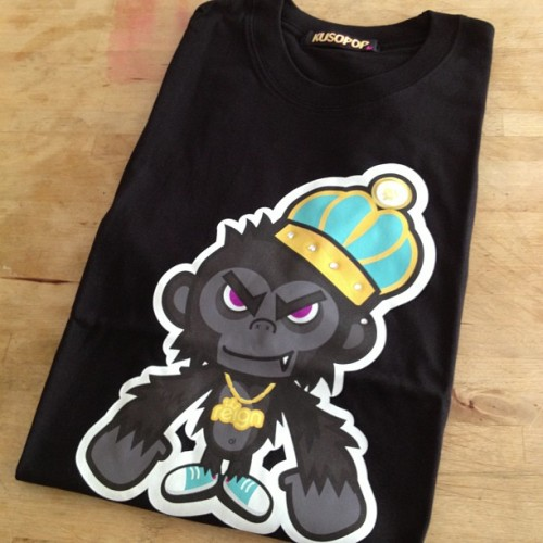 Monkey king tee by Nakanri, collaborated with Regin x Kusopop x Maihiro #kusopop #reign #maihiro #collaboration #tee #tshirt #streetwear #urbanclothing