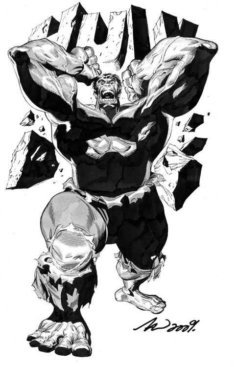 The Hulk by Malaysian artist Tan Eng Huat who's part of the creative team behind X-Men Legacy,re-launched as part of Marvel Now! The Hulk by ~arttan