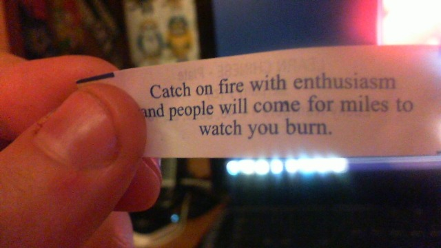 rufflesnotdiets:  christinaposaboole:  I JUST GOT THE MOST SINISTER FORTUNE COOKIE FORTUNE WHAT EVEN  This is the most metal fortune cookie in existence.