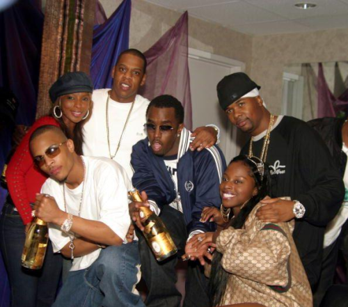 Jay-Z, T.I., Diddy, Mary J. Blige, Memphis Bleek, and Foxy Brown.