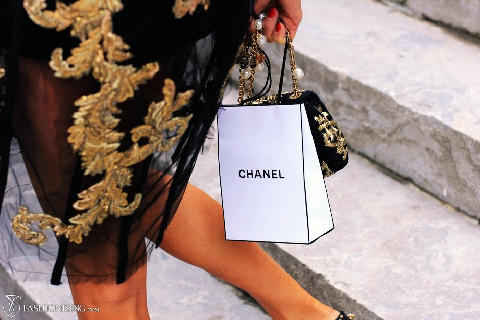 Anna Dello Russo After Chanel Paris Fashion Week