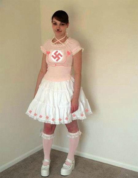 Disfraz de Lady Hitler…