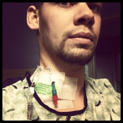 Started dialysis… (at St. Anthony Hospital)