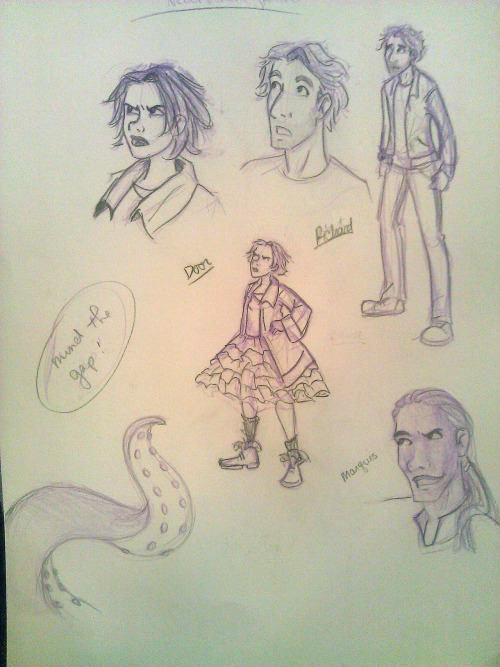 Characters from Neil Gaiman's Neverwhere