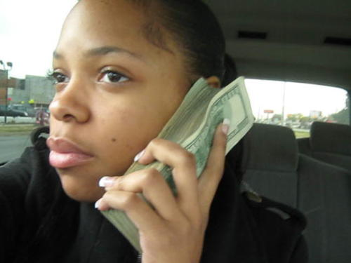 iheartchaos:  Hello? Yes, this is money.