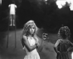 "sparklemyass:  ""Candy Cigarette"" by Sally Mann http://sparklemyass.tumblr.com/"