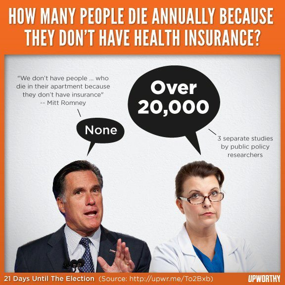 paxamericana:  thepoliticalfreakshow:  avengerco:  I think we're better off not having him in charge of the national healthcare system. So another 20,000 people don't matter to him either…  Or in charge of anything!  I love the implication that the uninsured only live in apartments.