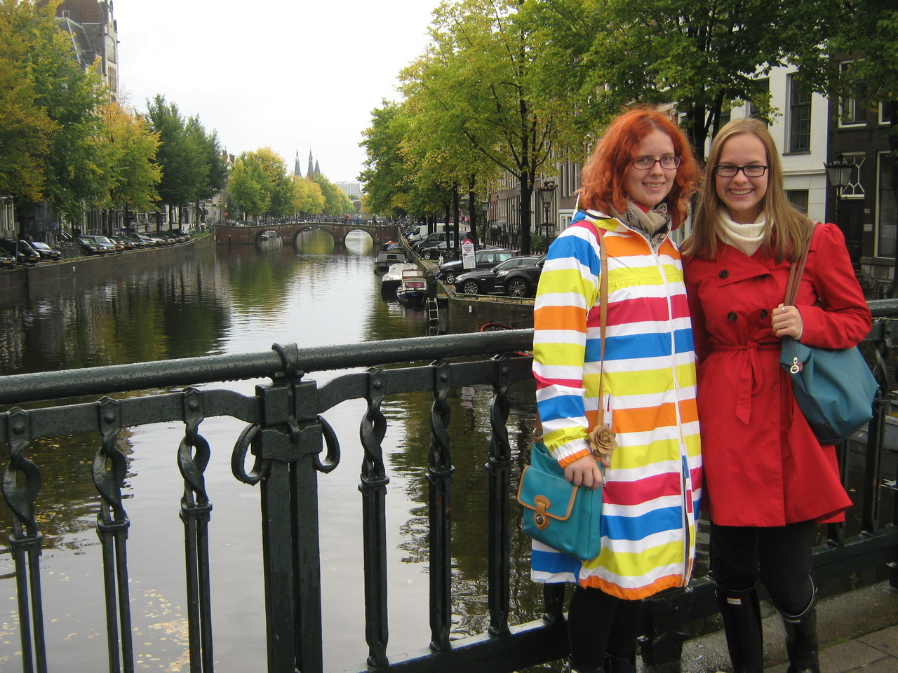 poppinstw:  Muggleotter and I in Amsterdam last week