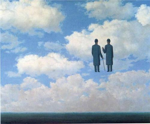 The Infinite Recognition (La Reconnaissance infinie), 1963 - Rene Magritte