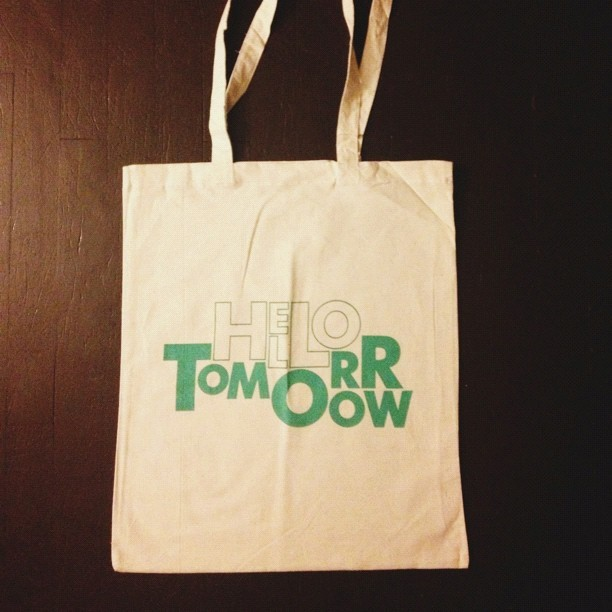 Live today, tote TOMORROW.