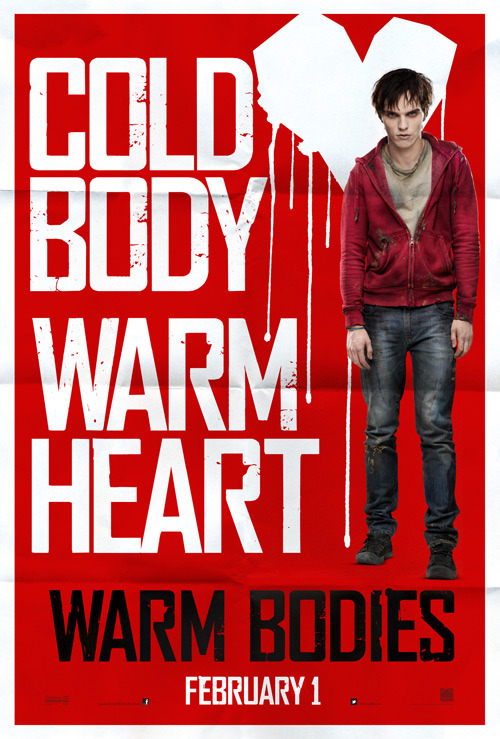 Exclusive First Look: 'Warm Bodies' Poster Plays It Cool 'It's got a sense of humor about itself, and yet it's got heart,' director Jonathan Levine tells MTV News of the movie art.
