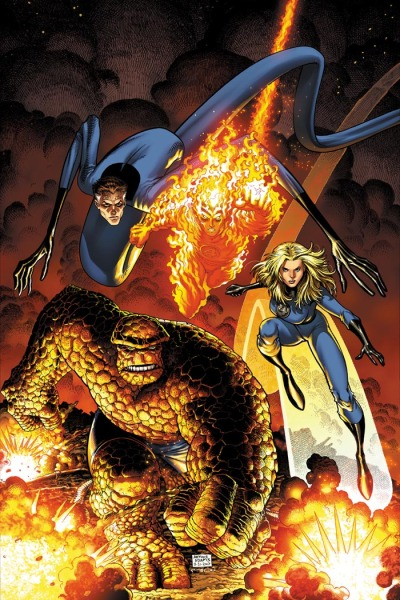 FANTASTIC FOUR by Art Adams