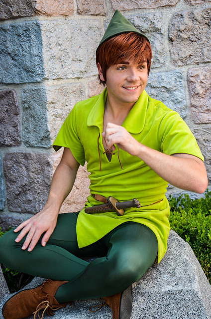 disney-pics:  Peter Pan by EverythingDisney on Flickr.