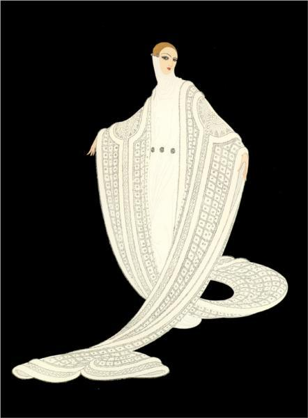 "Erte (Romain de Tirtoff) ""Purity"""