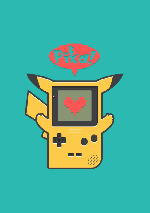 copiouslygeeky:  Gameboy-chu Created by Adrian Goh
