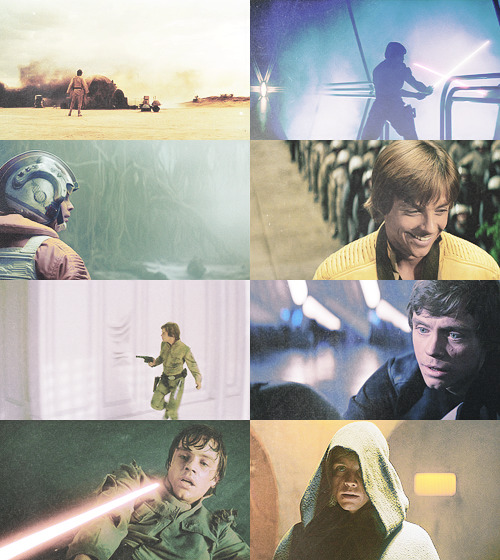 I'm Luke Skywalker. I'm here to rescue you.
