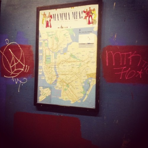 You are here! 📍#ka #tvt #mtk #mtk76 #tfo #nyc #graffiti #subway