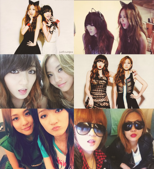 junhyungxx:   9 favorite photos of Jia and Fei♥