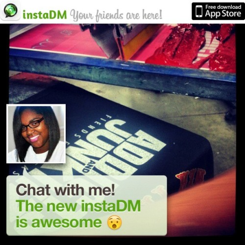 Wow, the new @instaDM is awesome. Get it and send me a message! #NewInstaDM