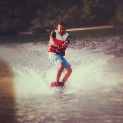 Wakeboarding at busuanga; way back #throwback