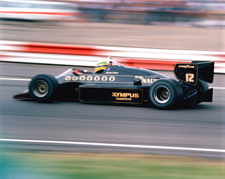 Lotus 97T car #12 Ayrton Senna | Silverstone 1985 British Grand Prix