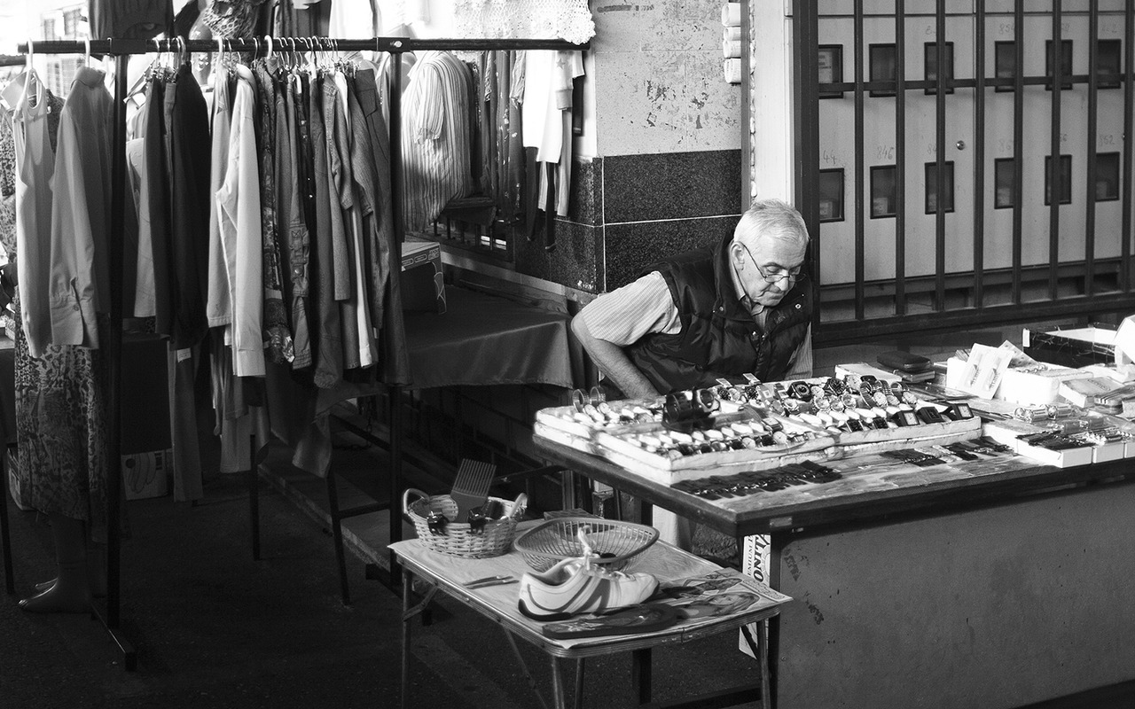 On the market, Sarajevo // July 2012