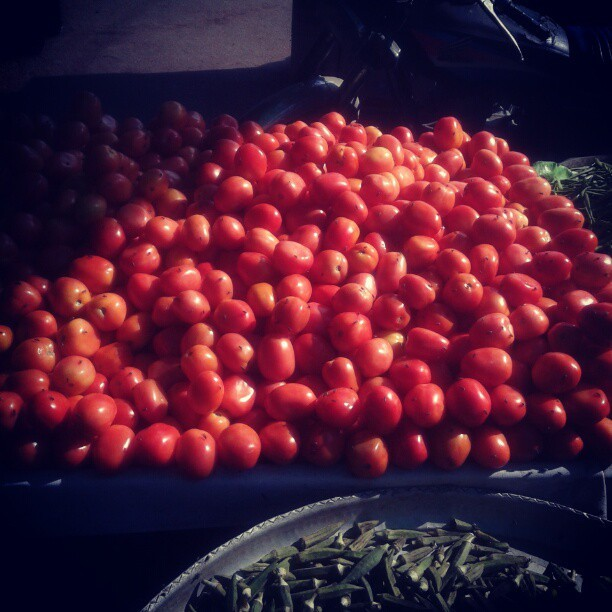 Lal lal timator #tomato #red #vegetable  (at Gol Market)