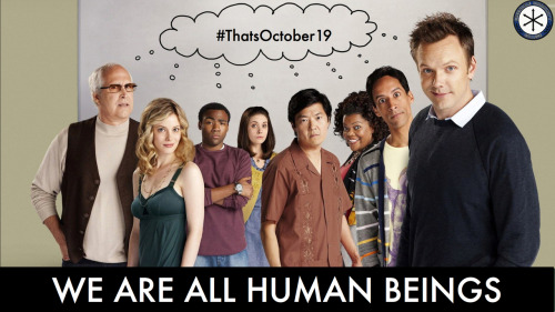 communitythings:  #thatsoctober19  #sixseasonsandamovie