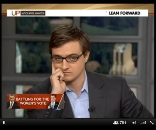 "therearedemonsinsideofus:  nprfreshair:  Chris Hayes tells Terry Gross about having people pay attention to his appearance once he started appearing on television  You start noticing that people are noticing how you look and it is a profoundly alienating experience when it first happens, where you go on TV and you say something about some topic of the day and on the Internet people are like, 'What was up with that shirt?' 'What was up with your hair?' and you think, 'Oh, that's kind of a bummer.' I think, actually, as a man it was a really useful, tiny sliver — a tiny, empathetic window — into what navigating the world as a woman often is, in which looks are so fore-grounded and so scrutinized and so discussed.   Chris Hayes is a man after my own heart: 1) Bulls and Cubs fan.2) ""I can't control my gender, race or sexual orientation, I can control who we have on and what voices we introduce to viewers.""3) Talks as fast as I do.4) Policy over pandering5)  6) His book was really good"