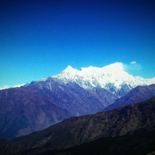 Mount langtang!  #mountain #nature #travel #himalaya #cloudsclo #sky #instalike