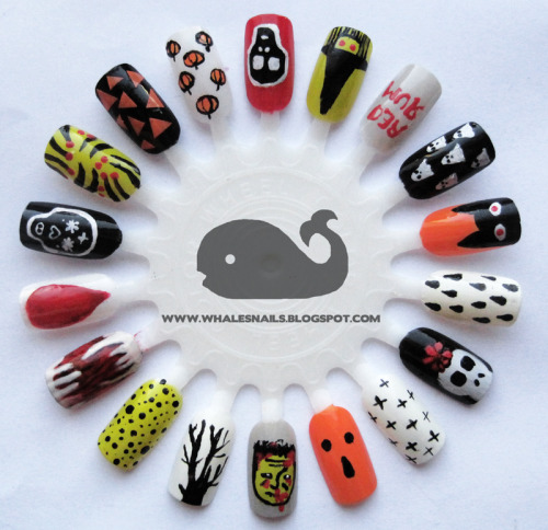 Halloween Nail Art Wheel!