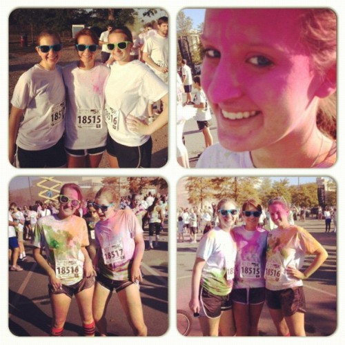 Color Me Rad 5k Columbia! #me #instacollage #races #race #colormerad