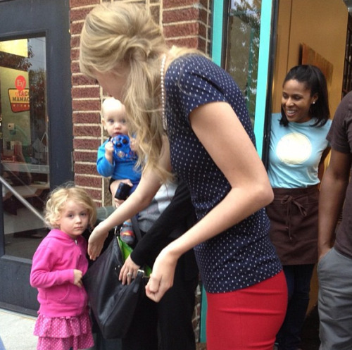 Taylor in Nashville yesterday [10/19/12]