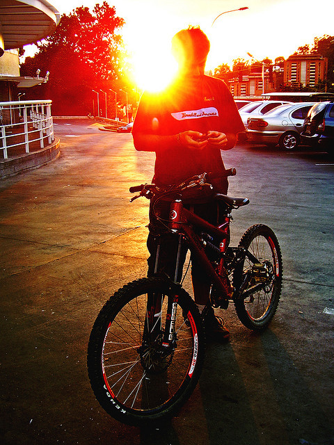 Sunset Rider by Pankcho on Flickr.#Caracas | #Photography