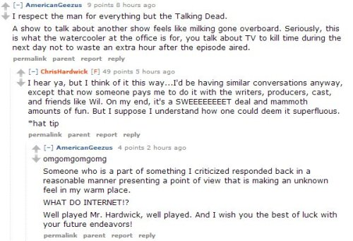 sweetmadameblue:  Why Chris Hardwick is the best at things. [x]
