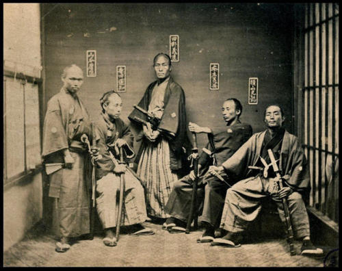 historical-nonfiction:  Samurai, circa 1860