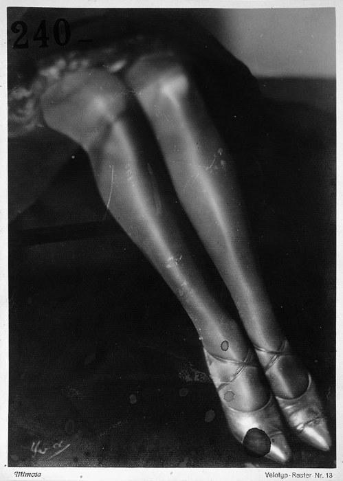 """Yva (Else Neuländer): Beine """"Beine"""". 1927/28  Also"""