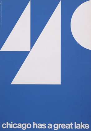 calumet412:  Graphic promotional poster by John Massey, 1965, Chicago.