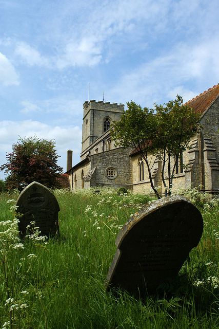 At peace on Flickr.The churchyard at St Mary's in Hardwick near Aylesbury, Buckinghamshire.