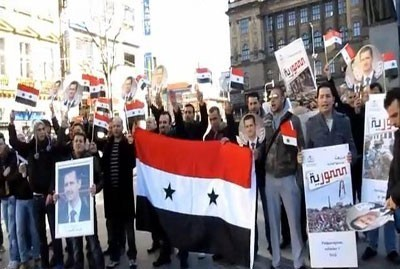 "Events in Solidarity with Syria in Czech Republic, Romania Members of the Syrian community and the Syrian students studying in the Czech Republic reiterated standing by the homeland Syria and its people, leadership and army in the face of the conspiracy hatched against them. In a stand organized on Saturday by the branch of National Union of Syrian Students in Czech, the participants stressed rejection of any form of foreign interference in Syria's internal affairs and support to the chain of reforms commenced by the Syrian leadership. The Syrians chanted slogans affirming the national unity, hailing the great role played by the Syrian Arab Army in confronting terrorism and the terrorists and protecting the security and stability of the homeland. Participating in the stand, which was held in the framework of the activities of the global campaign in solidarity with Syria, Czech supporters condemned the conspiracy hatched against Syria due to its principled stances in the face of the hegemony policy. They called upon the media to commit to their professional and ethical duty of revealing the truth and uncovering the false news broadcast by some regional and Western media outlets with the aim of destabilizing Syria and creating sectarian sedition in it. Syrian Students in Romania Call upon EU Parliamentarians to Lift Unjust Sanctions on Syria Meanwhile, the Syrian students in Romania called upon EU parliamentarians to demand the lifting of the unjust sanctions imposed on the Syrian people that contradict human rights. In identical letters to 200 European parliamentarians who are currently in Bucharest to attend the European People's Party conference, the students said ""The sanctions imposed on the Syrian people, especially those related to civil aviation, medicine and bank transfer constitute a violation of human rights and leave a negative impact on the Syrian people. The students said they will hold meetings with representatives of Romania at the European Parliament and hand them messages on the same subject, adding that they will meet several Romanian academics and journalists to supply them with documents on the crimes of the armed terrorist groups in Syria, as well as a detailed study of the negative impact of the unjust sanctions on the Syrian people. The students said that their activities in Romania include two meetings with the Russian and Iranian ambassadors in Romania and a symposium on the Syrian crisis."