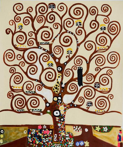 50watts:  Klimt, Tree of Life, 1911 (random find via)