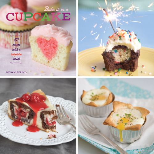 "The reviews are in!  Not only does my new cookbook, Bake it in a Cupcake: 50 Treats With a Surprise Inside, have 3 5-STAR reviews on Amazon.com, but it's also received praise from Bust Magazine, Cupcakes Take the Cake, AndrewZimmern.com, CakeSpy, Booking Mama, Three Imaginary Girls, and CityBookReview.com!  ""The instructions are clear and easy to follow, the pictures are mouthwatering, and the idea is brilliant. Every baker should own this book."" - CityBookReview.com ""Having honed her writing chops at Seattle's The Stranger, she's quick, clever, and witty. You'll enjoy reading her. Her witty repartee will amuse you while you wait for the cupcakes to bake."" -CakeSpy ""I loved BAKE IT IN A CUPCAKE for its originality as well as the delicious recipes. It's definitely a cookbook worth checking out!"" - Booking Mama The people have spoken! Get your own copy at your local bookstore as well as Amazon.com, Barnes & Noble, Indiebound.com, and Elliott Bay Book Company (Seattle)."