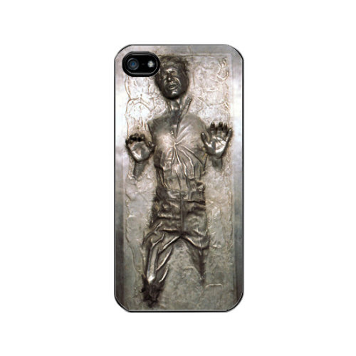 Han Solo in Carbonite iPhone Case Now this is flat out cool…