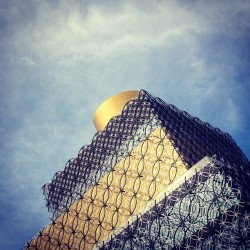 Interesting Library #architecture on it's way in Birmingham (at The Library of Birmingham)